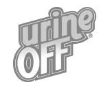 Urine Off logotyp.