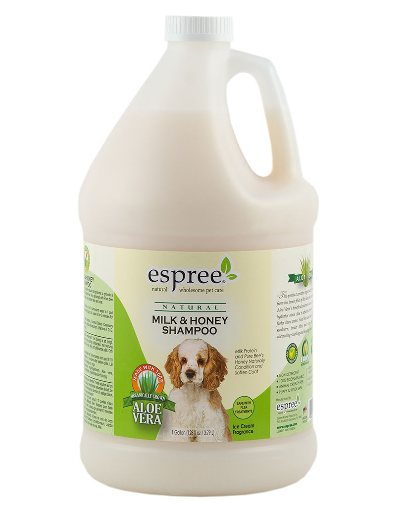 espree milk honey shampoo 3,8