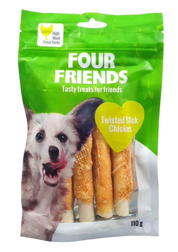 FourFriends twisted stick Chicken 110g
