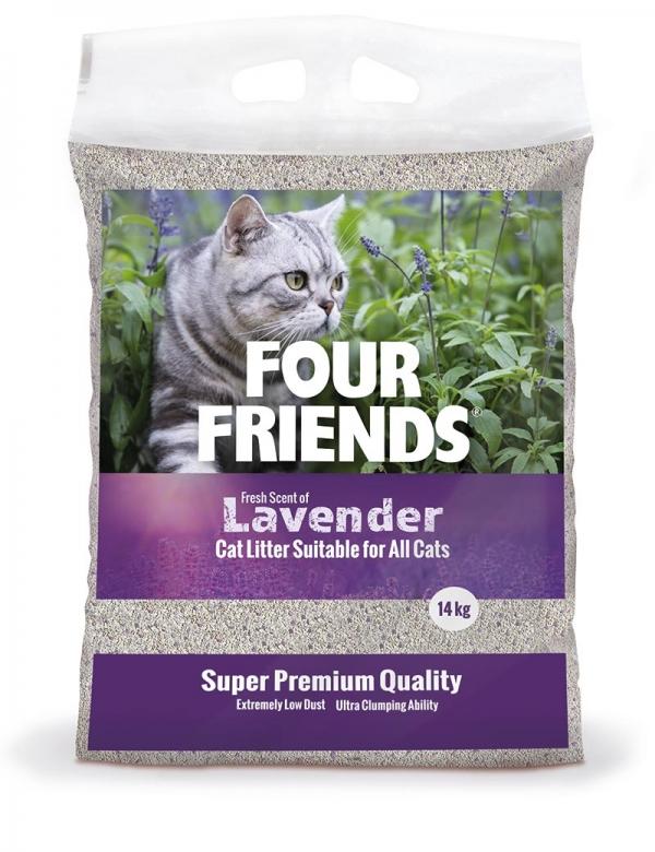 Kattsand Four Friends lavender