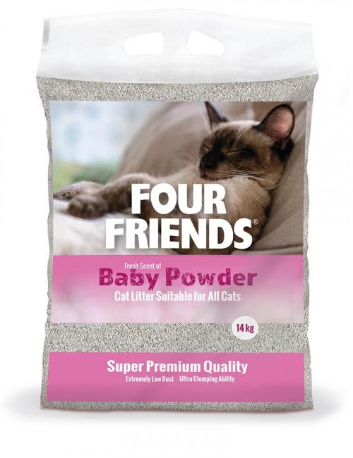 Kattsand Four Friends Baby Powder