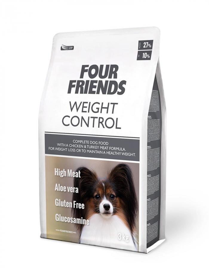 FourFriends hundmat Weight Control 3 kg