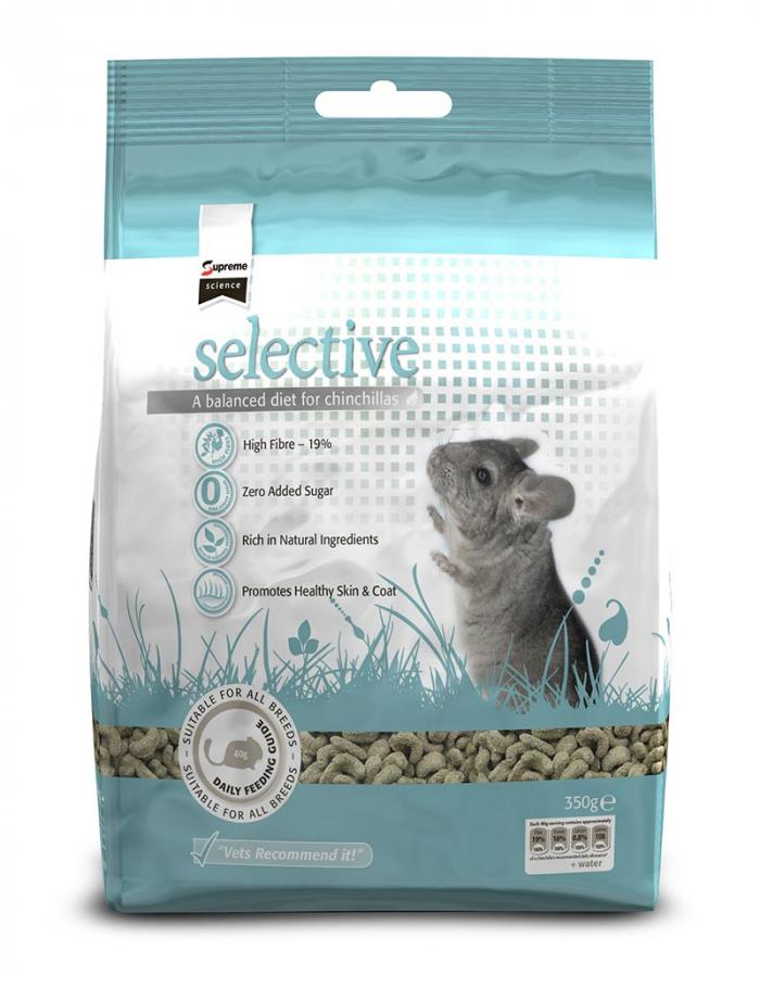selective chinchilla mat 350g