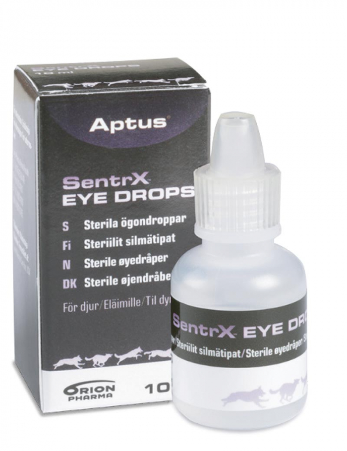 aptus sentrx eye drops ögondroppar hund