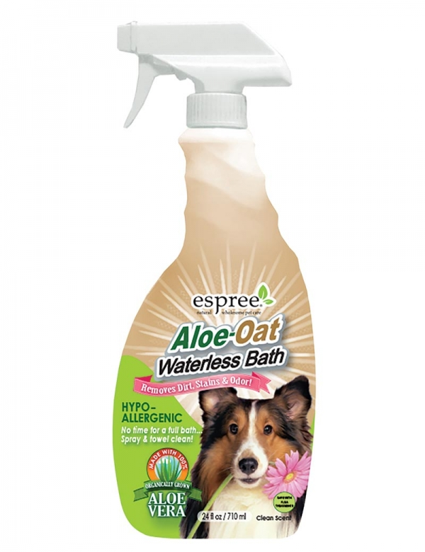 aloe oatbath waterless bath shampoo