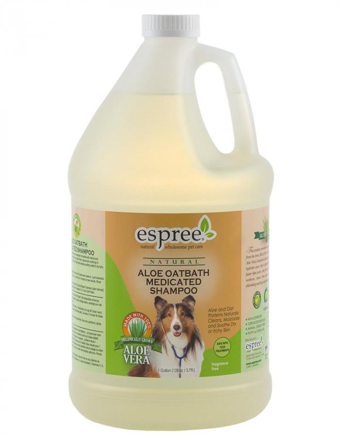 espree aloe oatbath medicated shampoo 3,8