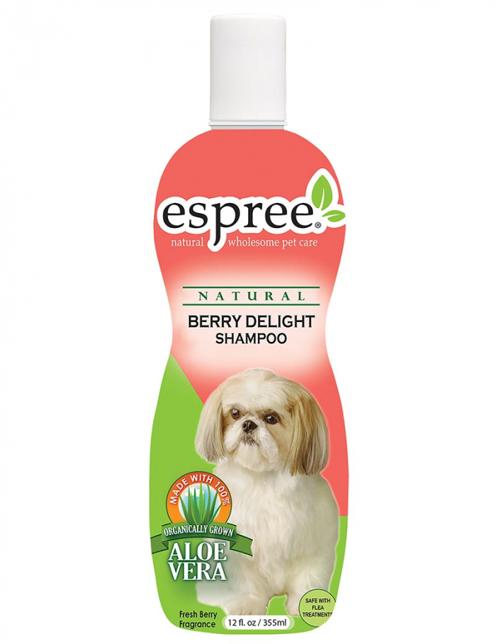 espree berry delight shampoo schampo hund