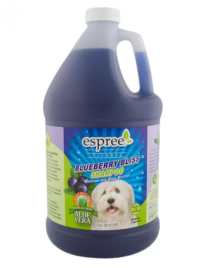 espree blueberry bliss schampo hund