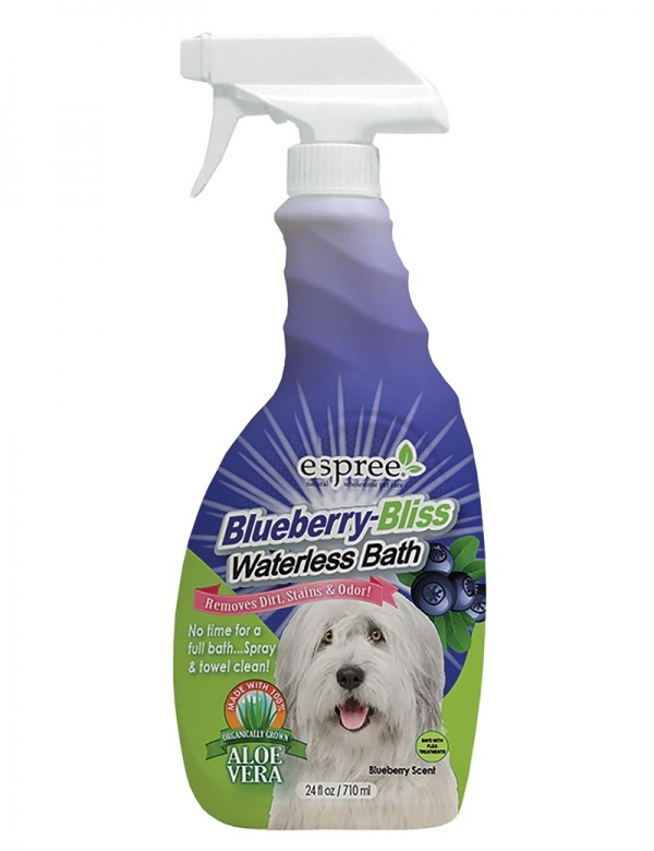 espree blueberry waterless shampoo