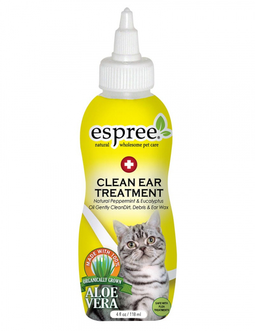 espree clean ear treatment cat