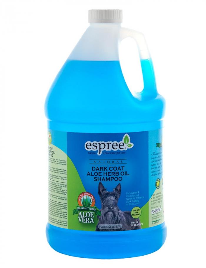 espree dark coat aloe shampoo hund 3,8