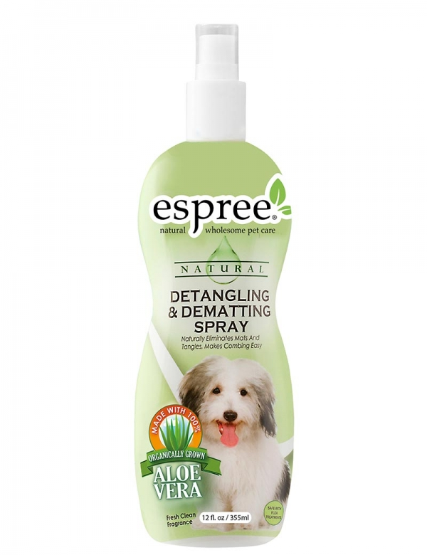 espree detangling dematting spray