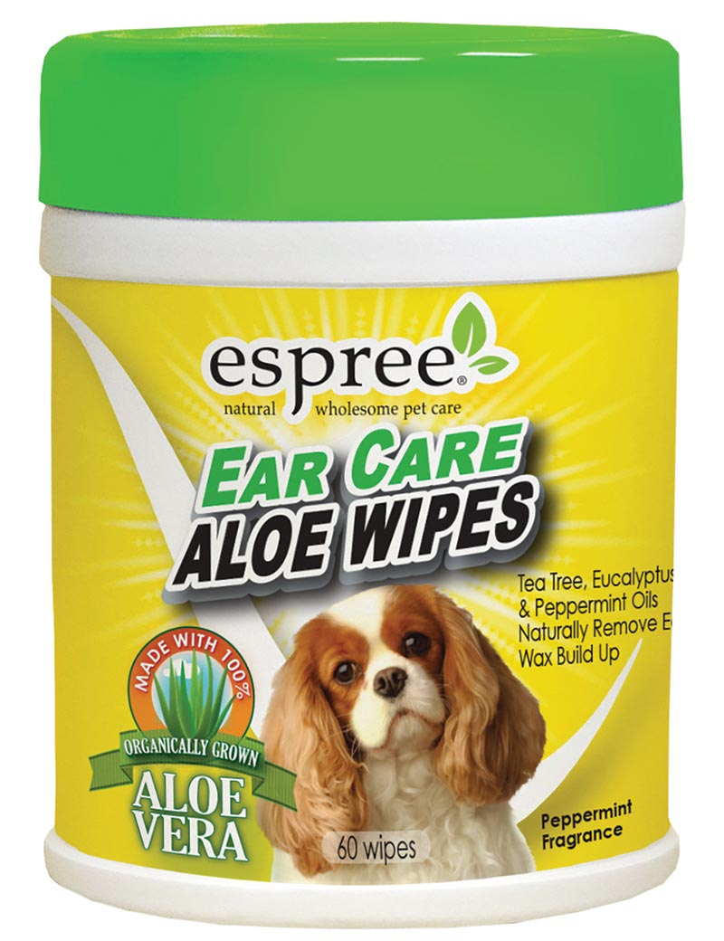 espree ear care wipes hund