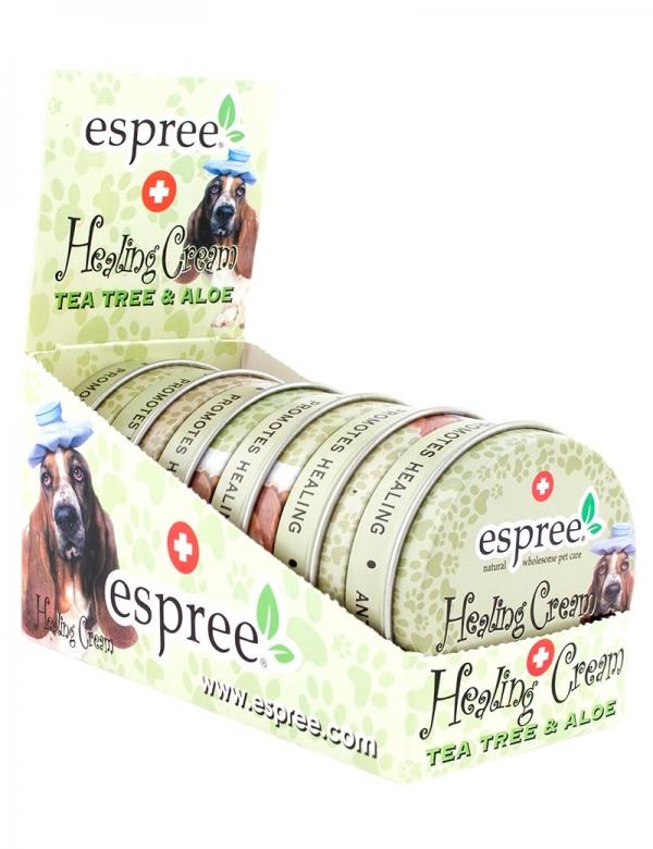 espree healing cream hund