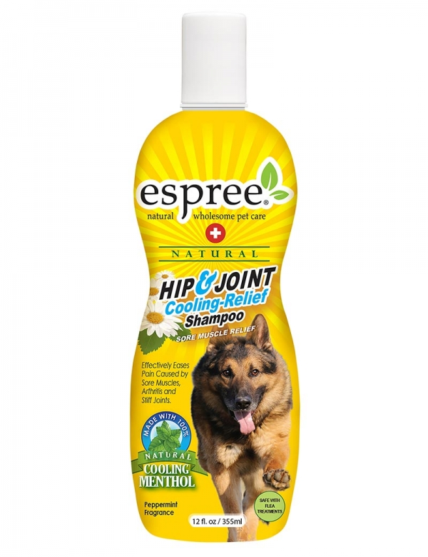 espree hip joint cooling relief shampoo hund