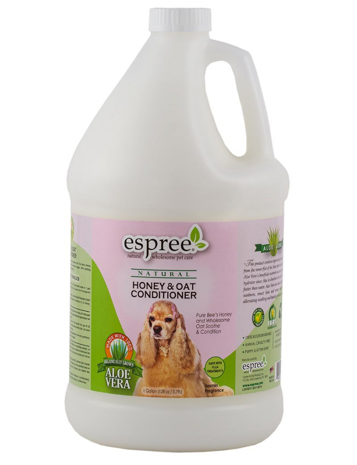 espree honey oat conditioner hund 3,8