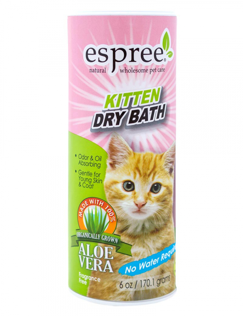 espree kitten dry bath