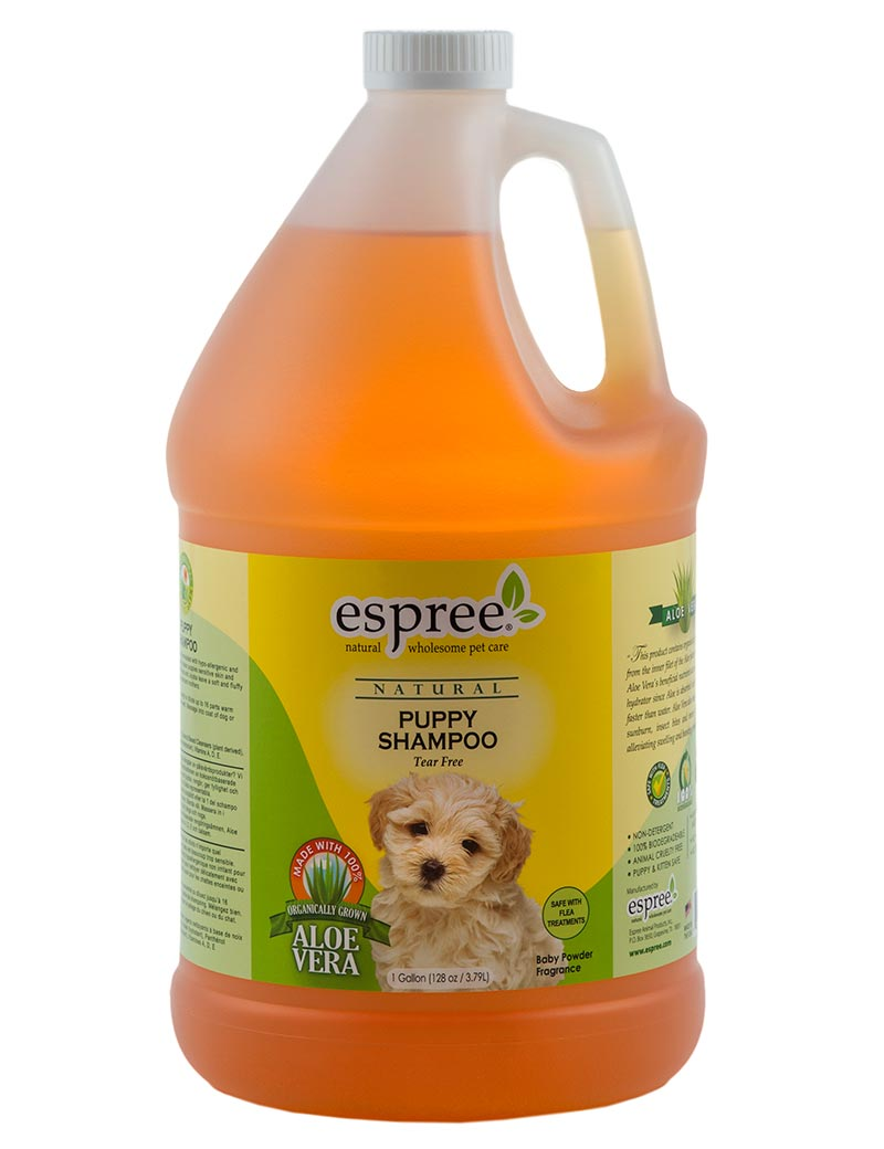 espree puppy shampoo 3,8