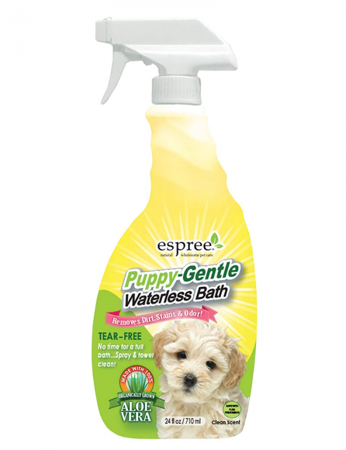 espree puppy waterless bath