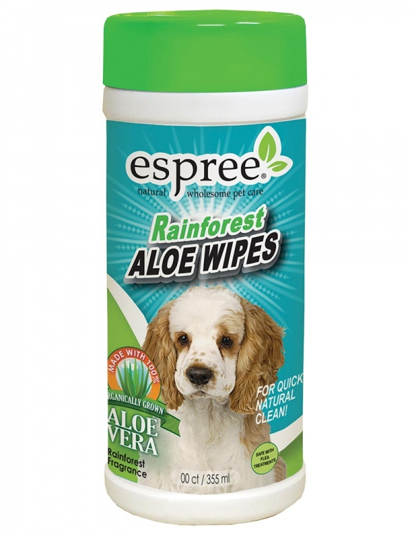 espree rainforest aloe wipes