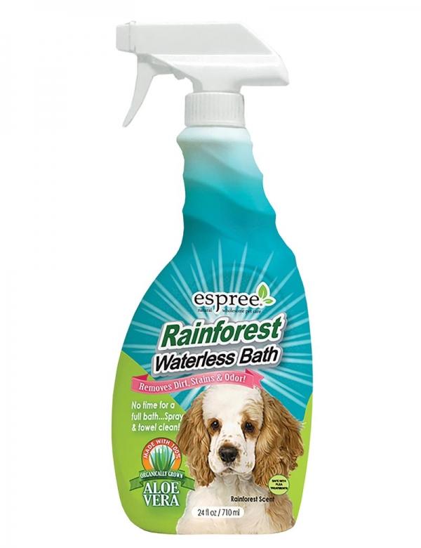 espree rainforest waterless bath
