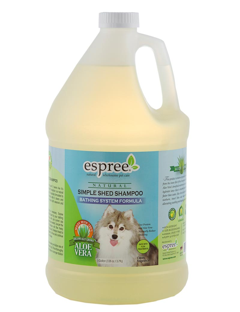 espree simple shed shampoo 3,8