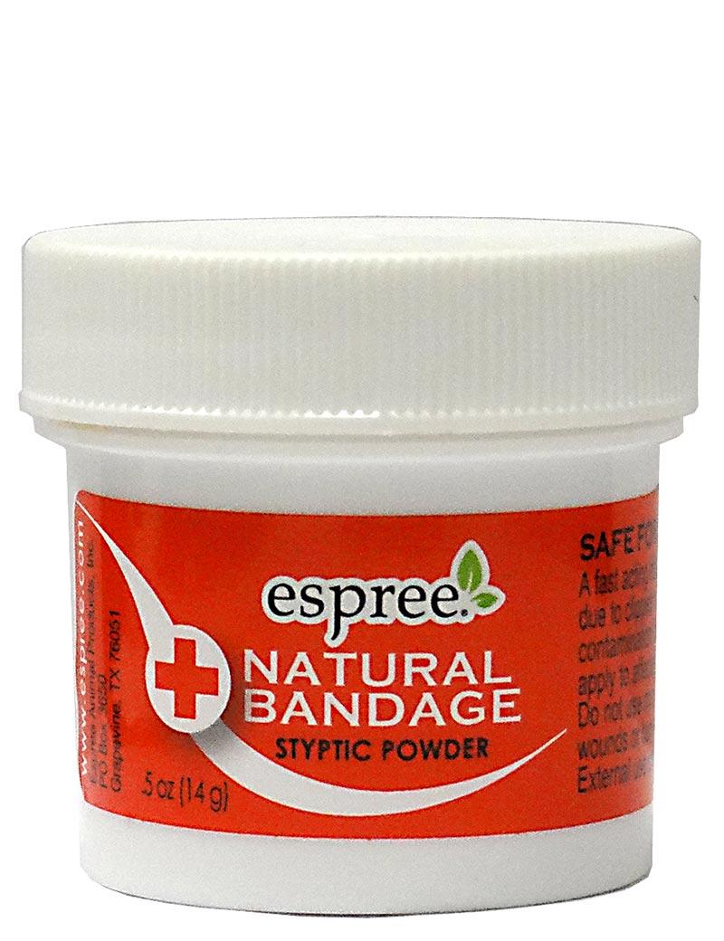 espree natural bandage styptic powder