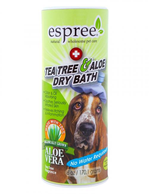 tea tree aloe dry bath