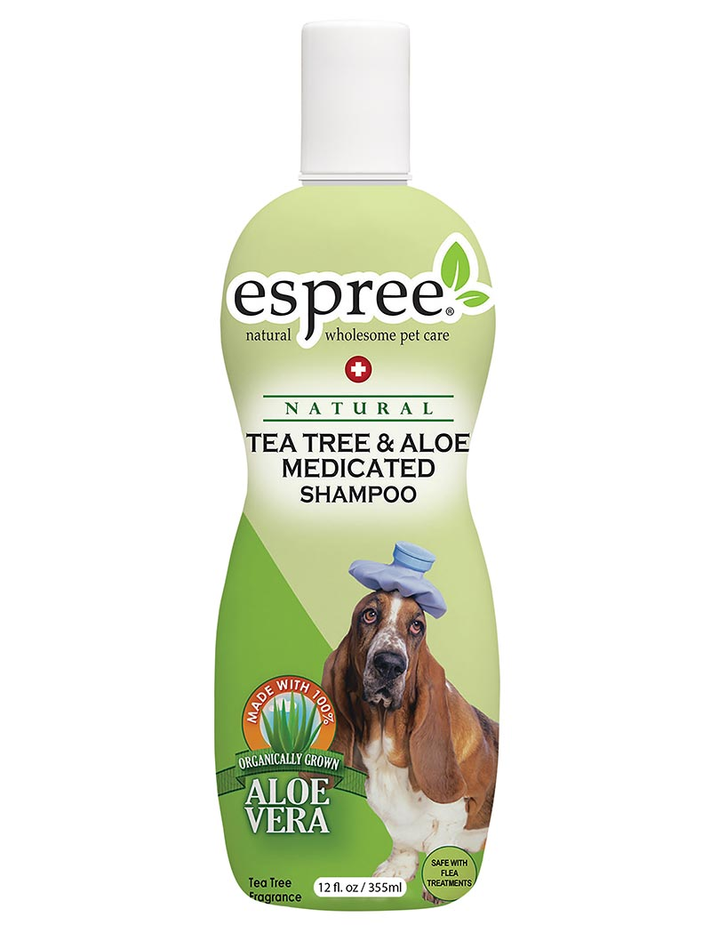 espree tea tree aloe medicated shampoo
