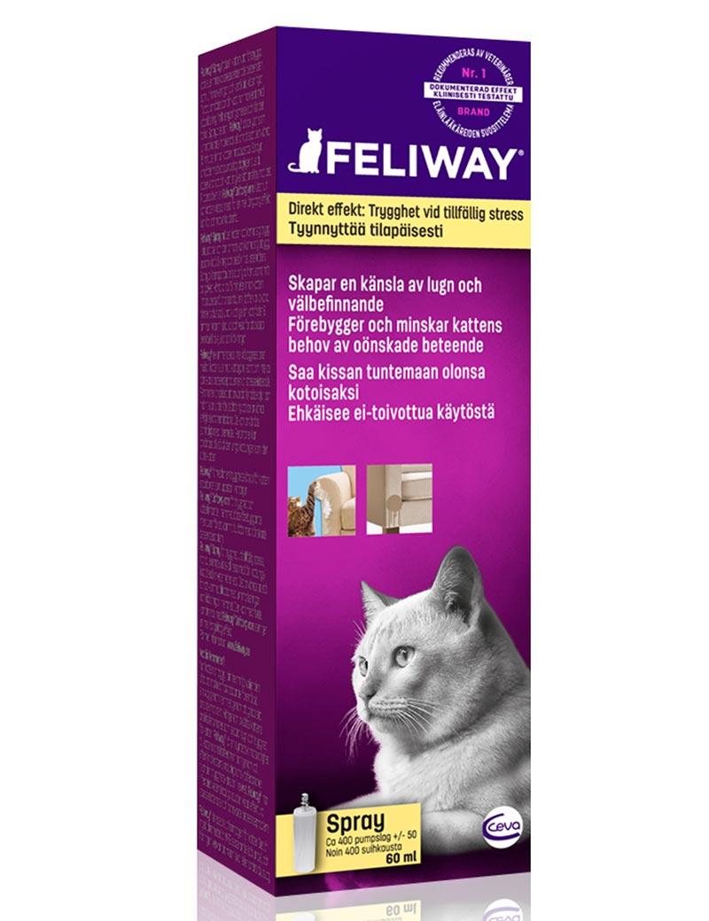 feliway spray katt feromoner