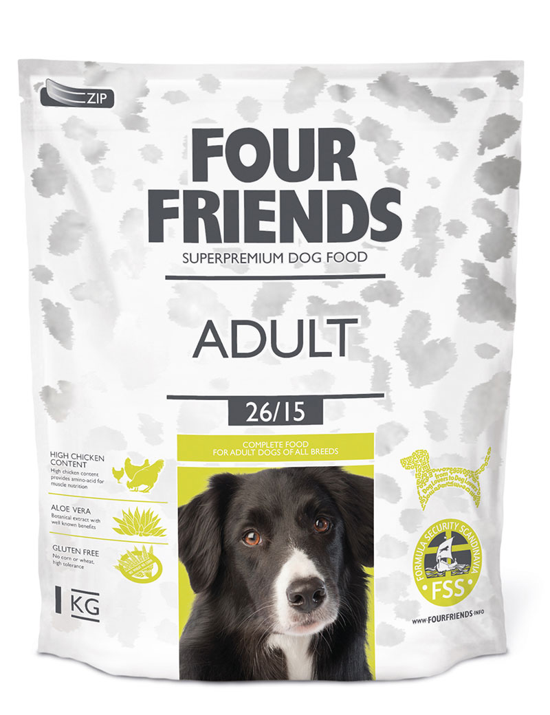 four friends hundmat vuxen 1 kg