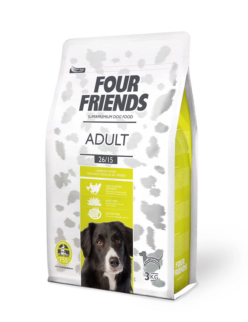 four friends hundmat vuxen 3 kg
