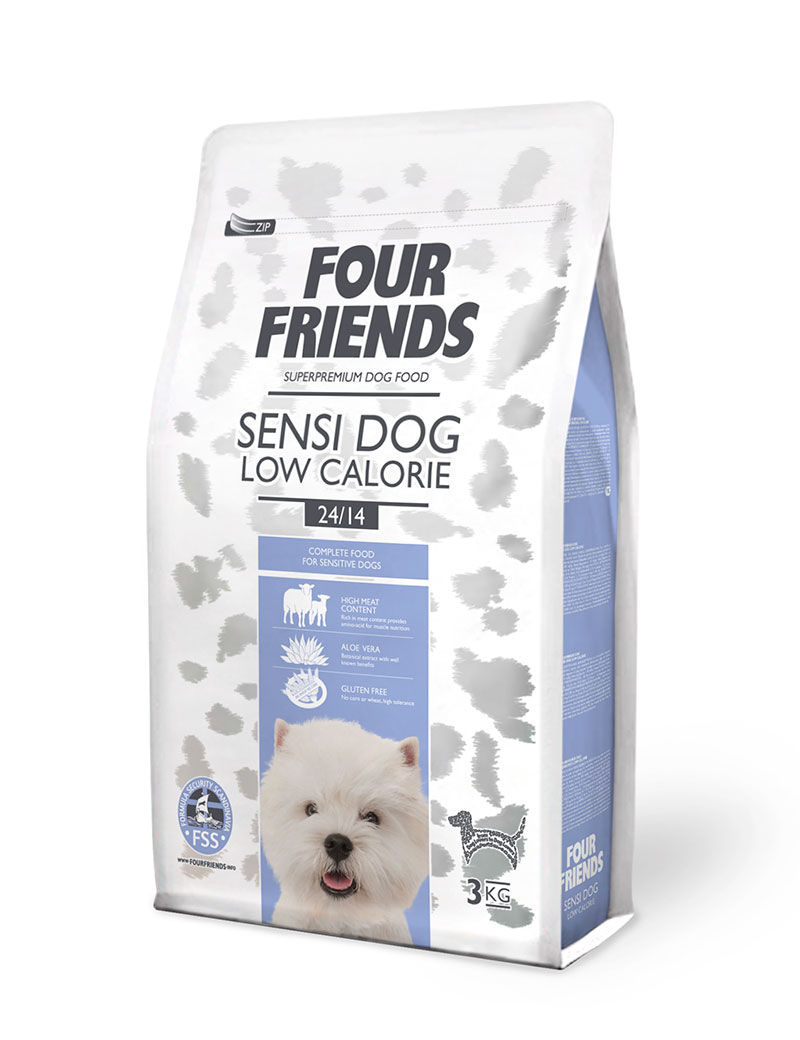 four friends sensi dog low 3 kg