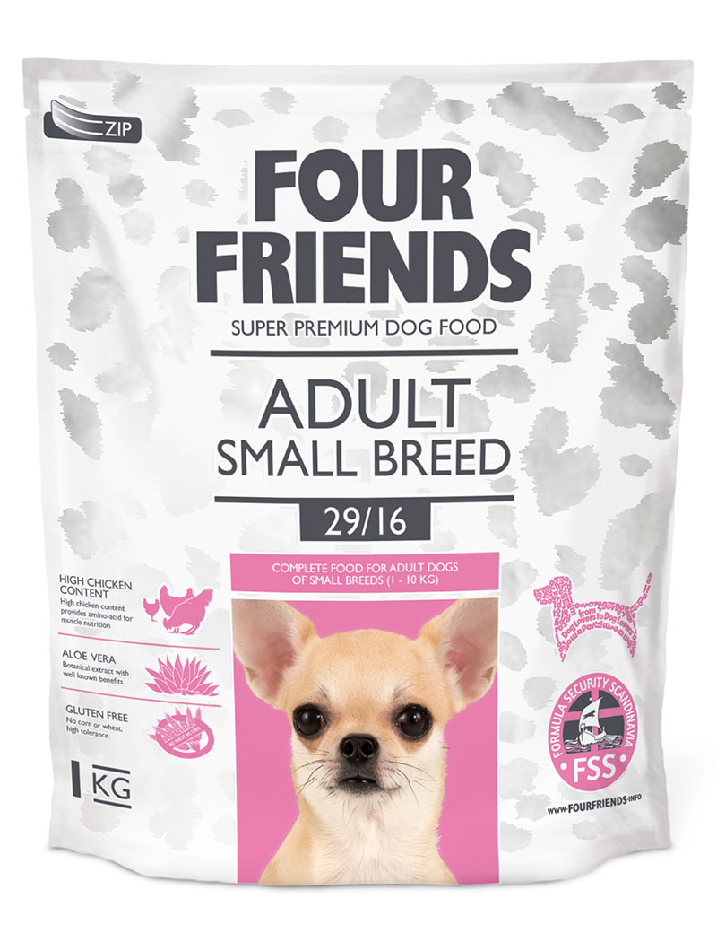 four friends hundmat small breed 1 kg