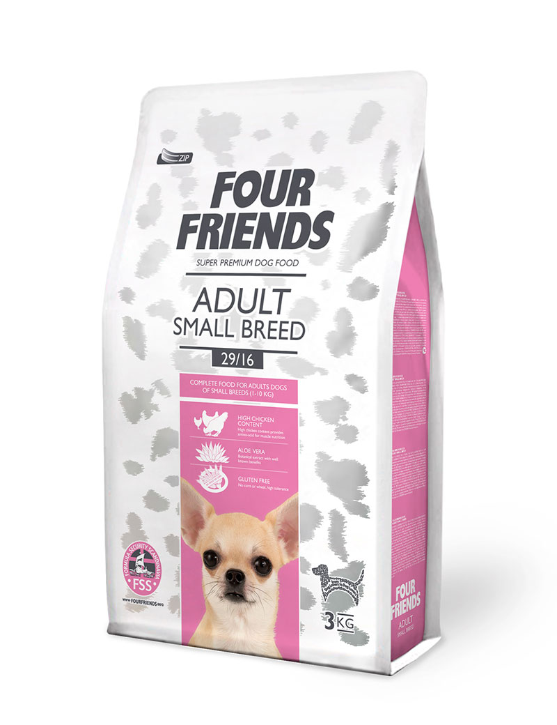 four friends hundmat small breed 3 kg