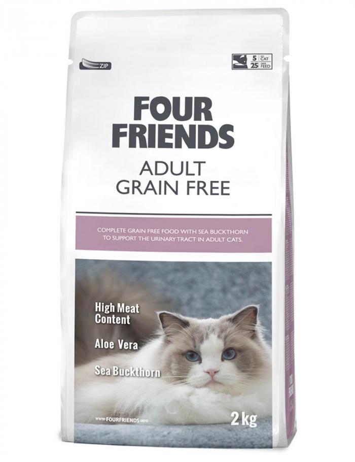 four friends kattmat adult 2 kg