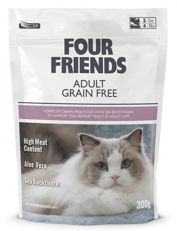 four friends kattmat adult 300g