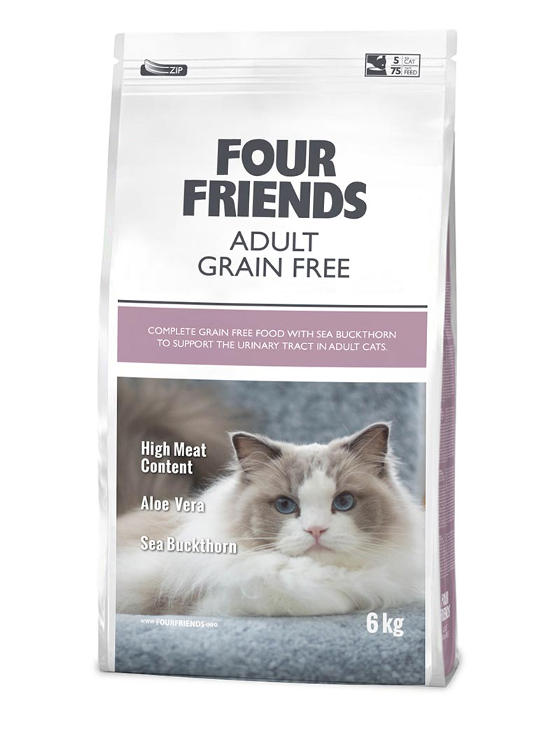 four friends kattmat adult 6 kg
