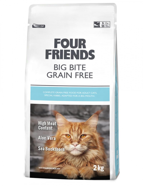 four friends kattmat big bite 2 kg