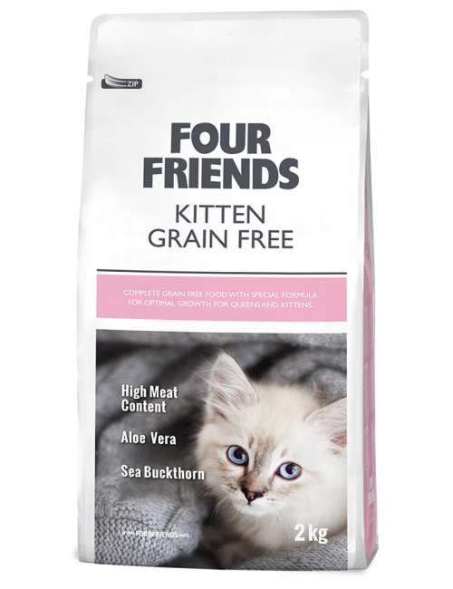 four friends kattmat kitten 2 kg