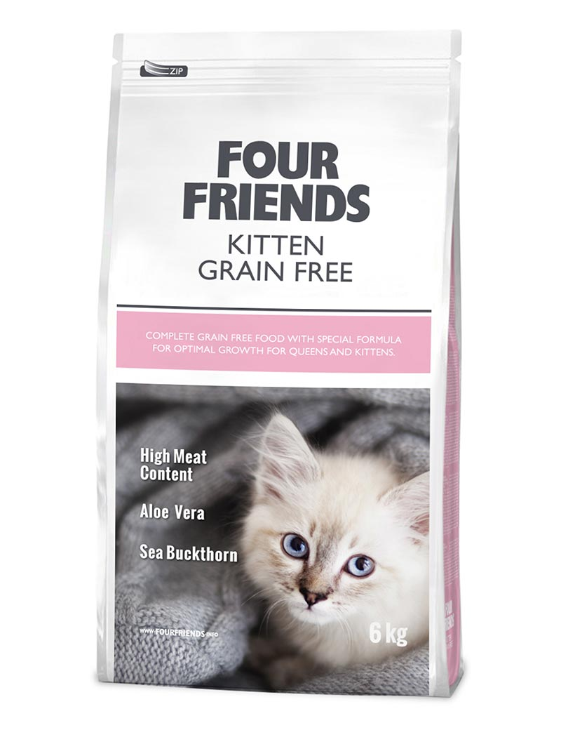 four friends kattmat kitten 6 kg