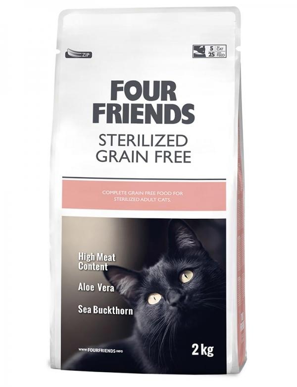four friends kattmat sterilized 2 kg