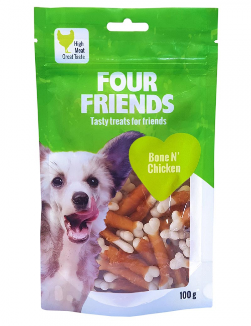 four friends godis bone chicken 100g