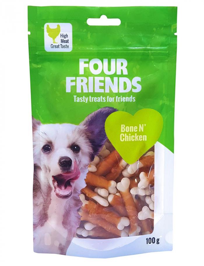 four friends godis bone chicken 100g