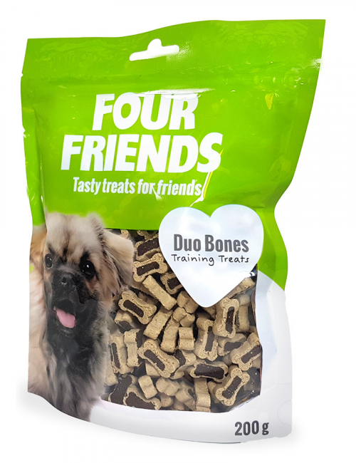 four friends duo bones träningsgodis belöning 200g