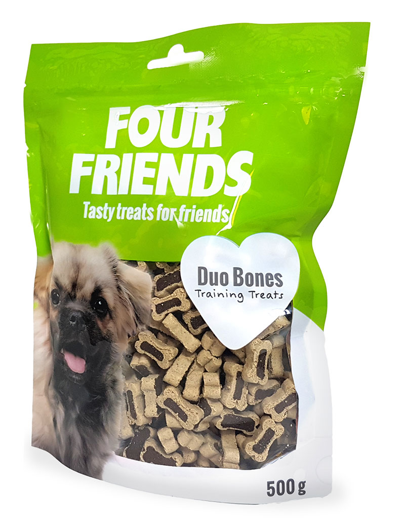 four friends duo bones träningsgodis belöning 500g