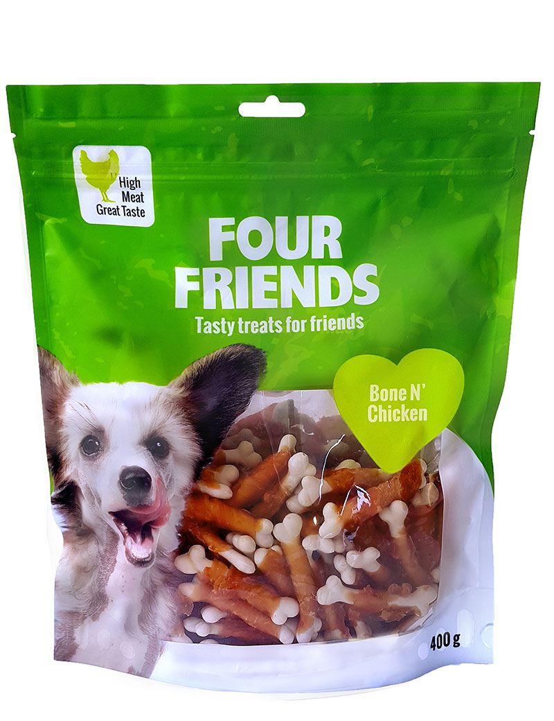 four friends godis bone chicken 400g