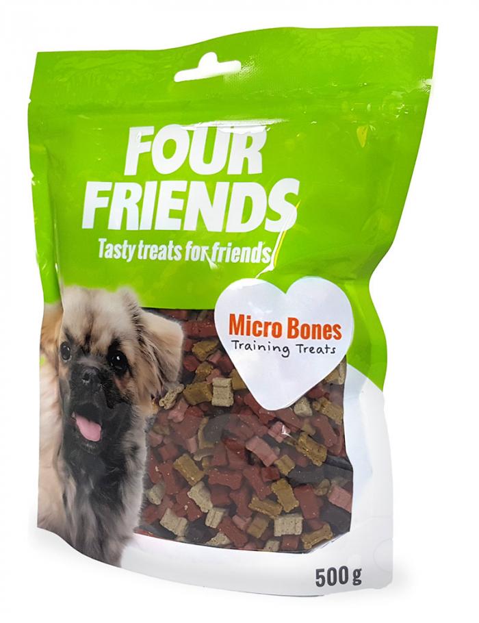 four friends micro bones träningsgodis belöning