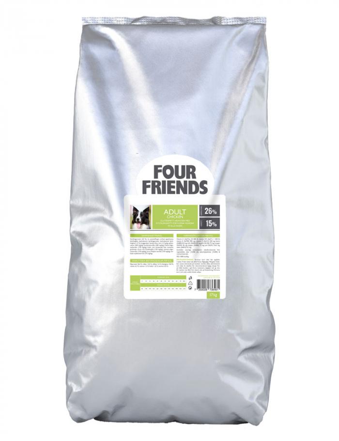 FourFriends hundmat Adult Chicken 17 kg