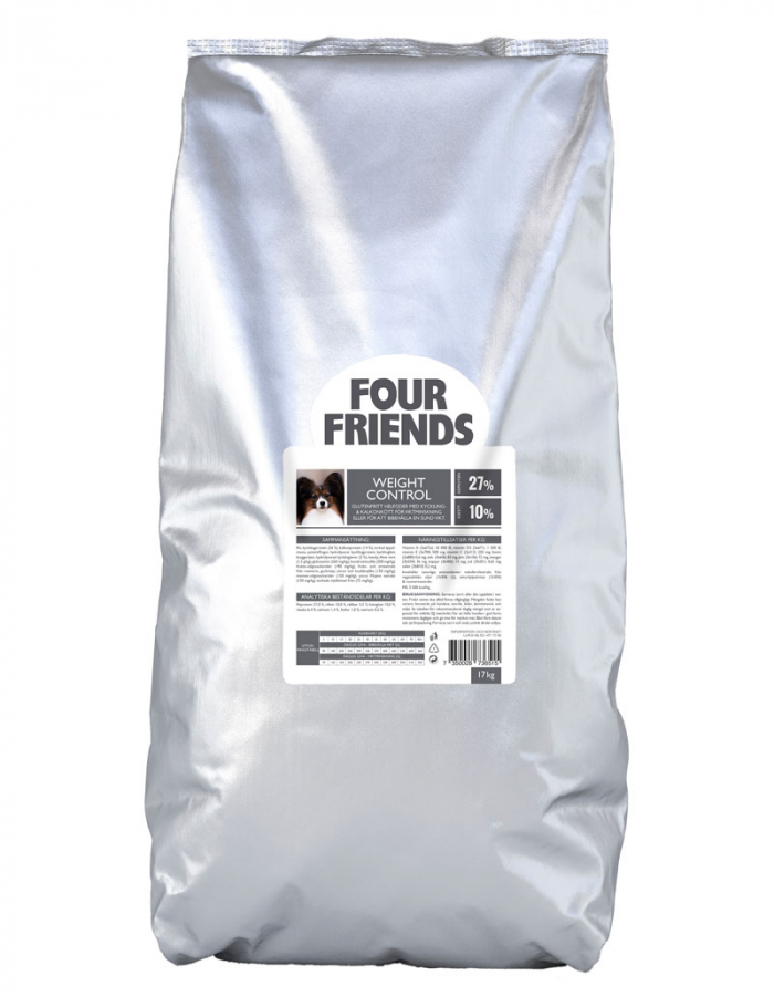 FourFriends hundmat Weight Control 17 kg
